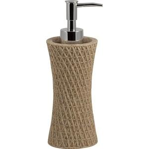 Дозатор для жидкого мыла Swensa Тиволи, полирезина, светло-бежевый (SWT-1450A)