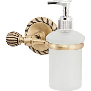 Дозатор для жидкого мыла Swensa стекло/античная бронза (11810) мыльница swensa стекло античная бронза 11802