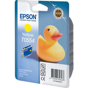 Картридж Epson Yellow Stylus Photo (C13T05544010) картридж epson t0804 yellow c13t08044011