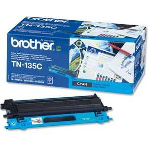 Картридж Brother TN135C картридж hi black tn 1075 для brother hl 1010r 1112r dcp 1510r 1512 mfc 1810r 1815 1000стр