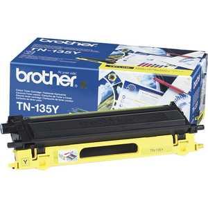 Картридж Brother TN135Y картридж для струйных аппаратов brother lc3617y желтый для mfc j3530dw j3930dw 550стр lc3617y