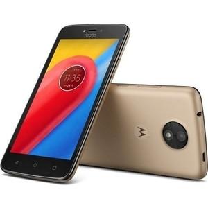 Смартфон Motorola MOTO C 4G XT1754 Fine Gold смартфон motorola moto c xt1754 16gb черный pa6l0083ru