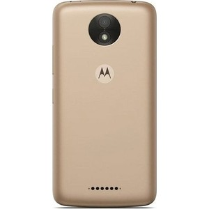 Смартфон Motorola MOTO C Plus XT1723 Fine Gold смартфон motorola moto c plus xt1723 5 hd ips 1280х720 mediatek mt6737 1 3ghz 1gb 16gb 4g lte wifi bt sd 8mp android 7 0 whole gold