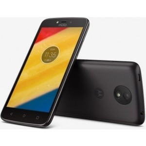 Смартфон Motorola MOTO C Plus XT1723 Starry Black накладка силикон ibox crystal для xiaomi redmi 3 3s 3 pro прозрачный