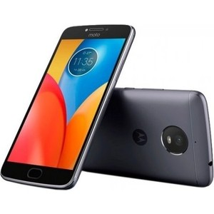 Смартфон Motorola MOTO E4 Plus XT1771 Iron Gray аксессуар закаленное стекло motorola moto e4 df fullscreen mcolor 03 black