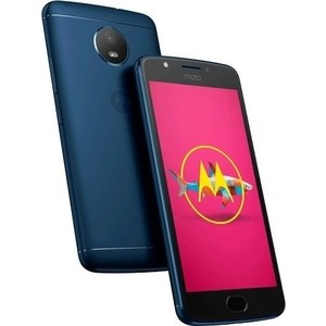 Смартфон Motorola MOTO E4 XT1762 Oxford Blue смартфон motorola moto e4 xt1762 iron gray