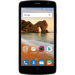 Смартфон ZTE Blade L5 Plus Black смартфон bqs 5055 turbo plus lte black