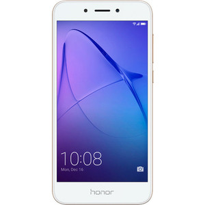 Смартфон Huawei Honor 6A 16Gb Gold (DLI-TL20) смартфон huawei honor 7 lite gold
