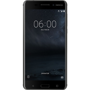 Смартфон Nokia 6 32Gb Matte Black смартфон nokia смартфон nokia 6 1 32gb blue