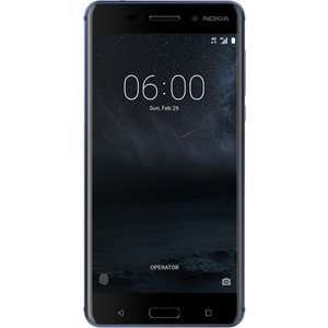 Смартфон Nokia 6 32Gb Blue мобильный телефон nokia 105 2017 blue