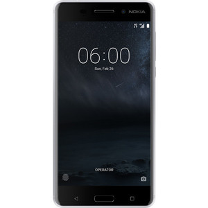 Смартфон Nokia 6 Silver nokia 6700 classic illuvial