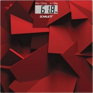 Весы Scarlett SC-BS33E086 красн весы напольные scarlett sc bs33e086
