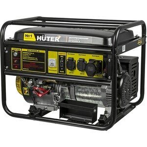 Генератор бензиновый Huter DY9500LX генератор бензиновый зубр зиг 1200