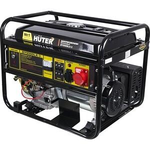 Генератор бензиновый Huter DY9500LX-3 генератор бензиновый zenith zh7000 3
