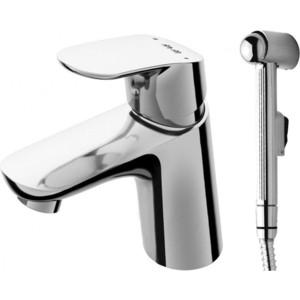 Смеситель для раковины Am.Pm Like с гигиеническим душем (F8003032) смеситель с душем недорого купить