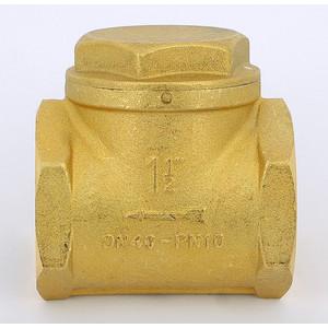 Клапан ITAP обратный ROMA 104 11/2 ВР с 2-мя спускными пробками 1/4 (пригоден для бензина) itap редуктор давления minibrass 361 1 2 с подсоединением для манометра 1 4