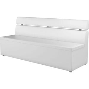 все цены на Кухонный диван АртМебель Классик эко-кожа белый онлайн