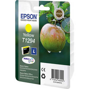 Картридж Epson Yellow Stylus (C13T12944011) картридж epson t009402 для epson st photo 900 1270 1290 color 2 pack