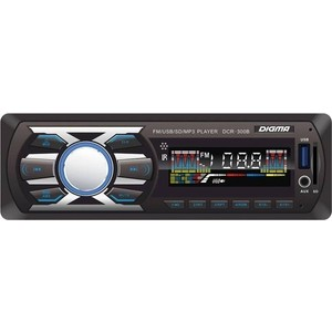 Автомагнитола Digma DCR-300B dean dcr tb dlx tcs