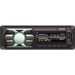 цена Автомагнитола Digma DCR-300G