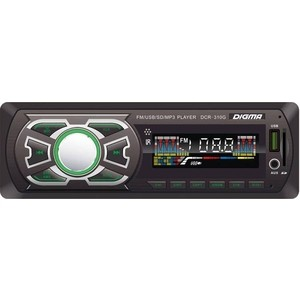 Автомагнитола Digma DCR-310G dean dcr tb dlx tcs
