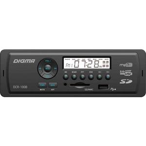 Автомагнитола Digma DCR-100B24 сотовый телефон digma linx a177 2g