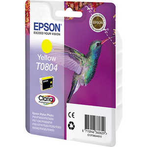 Картридж Epson T0804 Yellow (C13T08044011) картридж epson t009402 для epson st photo 900 1270 1290 color 2 pack