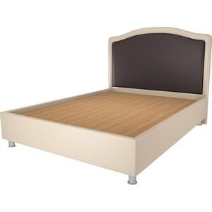 Кровать OrthoSleep Калифорния бисквит-шоколад жесткое основание 180х200 кровать orthosleep виктория шоколад бисквит жесткое основание 180х200