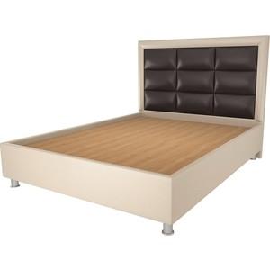 Кровать OrthoSleep Виктория бисквит-шоколад жесткое основание 180х200 кровать orthosleep виктория шоколад бисквит жесткое основание 180х200