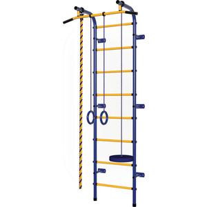 Детский спортивный комплекс Пионер С1Н сине- жёлтый спортивный комплекс пионер с2нм сине жёлтый