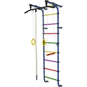 Детский спортивный комплекс Формула здоровья Мечта-1В Плюс синий- радуга детский спортивный комплекс формула здоровья гамма 3к плюс фиолетовый радуга