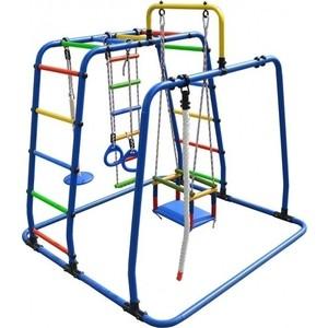 Детский спортивный комплекс Формула здоровья Игрунок Т Плюс синий- радуга