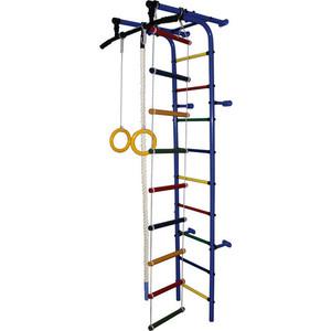 Детский спортивный комплекс Формула здоровья Забияка-1А Плюс синий- радуга