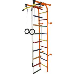 Детский спортивный комплекс Формула здоровья Забияка-1А Плюс оранжевый- радуга детский спортивный комплекс формула здоровья аистенок 2а плюс красный радуга