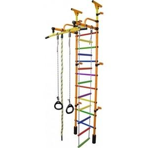 Детский спортивный комплекс Формула здоровья Жирафик-1А Плюс Универсальный оранжевый- радуга детский спортивный комплекс формула здоровья жирафик 1а плюс красно желтый