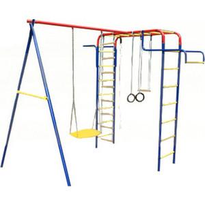 Детский спортивный комплекс Пионер дачный мини ЦК (1527) детская игровая площадка пионер дачный мини с качелями на подшипниках тк