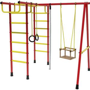 Детский спортивный комплекс Лидер Д2-03 красно- жёлтый