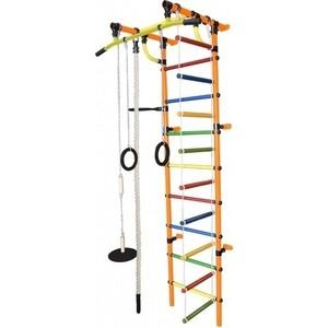 Детский спортивный комплекс Формула здоровья Гамма-1К Плюс оранжевый- радуга детский спортивный комплекс формула здоровья гамма 3к плюс фиолетовый радуга