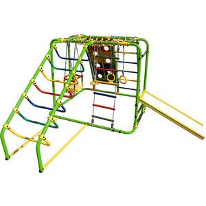 Детский спортивный комплекс Формула здоровья Артек N Плюс салатовый- радуга детский спортивный комплекс формула здоровья аистенок 2а плюс красный радуга