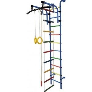 Детский спортивный комплекс Формула здоровья Аистёнок-1А Плюс синий- радуга