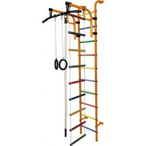 Детский спортивный комплекс Формула здоровья Аистёнок-1А Плюс оранжевый- радуга детский спортивный комплекс формула здоровья орленок 3а плюс красный радуга