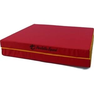 Мат PERFETTO SPORT № 10 (100 х 150 х 10) складной (1 сложение) красно- жёлтый мат perfetto sport 5 100 х 200 х 10 складной 3 сложения красно жёлтый