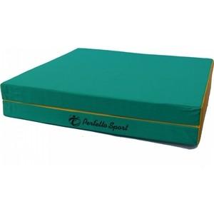 Мат PERFETTO SPORT № 10 (100 х 150 х 10) складной (1 сложение) зелёно- жёлтый мат perfetto sport 8 100 х 200 х 10 складной 1 сложение бежевый
