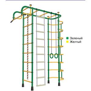 Детский спортивный комплекс Пионер 2М зелёно- жёлтый дск пионер с4см зелёно жёлтый