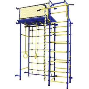 Детский спортивный комплекс Пионер 10СМ сине- жёлтый насадка удлинитель 10см cyberskin минивибратор