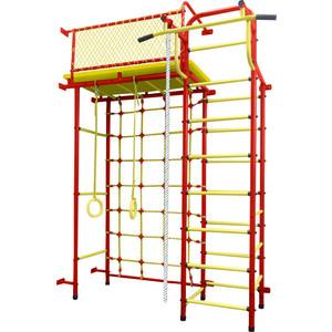 Детский спортивный комплекс Пионер 10СМ красно- жёлтый детский спортивный комплекс пионер 8м красно жёлтый
