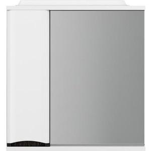 Зеркальный шкаф Am.Pm Like левый 65 см, с подсветкой, венге, текстурированный (M80MPL0651VF) зеркальный шкаф am pm awe 150 с подсветкой белый текстурированный m15mcx1501wf
