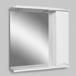 все цены на Зеркальный шкаф Am.Pm Like 80 см, с подсветкой, правый белый глянец (M80MPR0801WG) онлайн