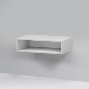 Полка Am.Pm Gem Open-space для базы, подвесной, 75 см, белый глянец (M90OHX0750WG)