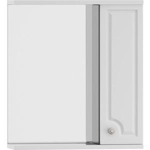 Зеркальный шкаф Dorff Tradition правый 60 см, с подсветкой, белый (M95MPR0601WG) шкаф пенал dorff tradition 36 см белый глянец
